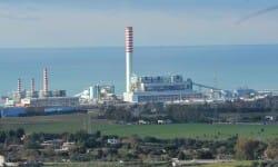La centrale di Torrevaldalica Nord