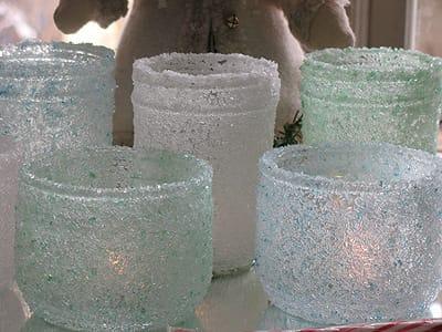 Lanternine con il sale