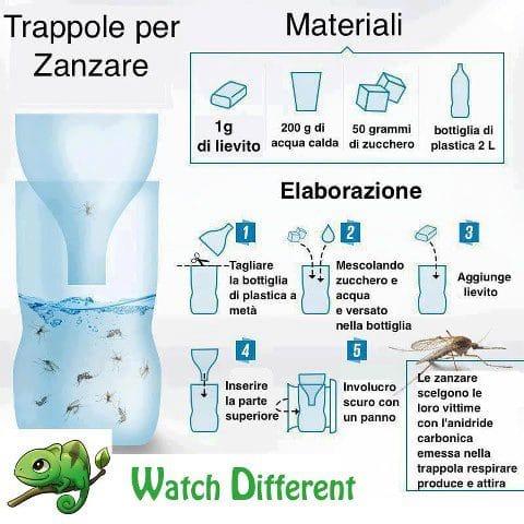 Trappola per zanzare