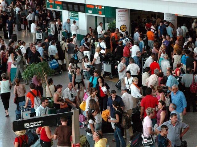 Fiumicino, nel periodo estivo +3% di arrivi e presente in aeroporto