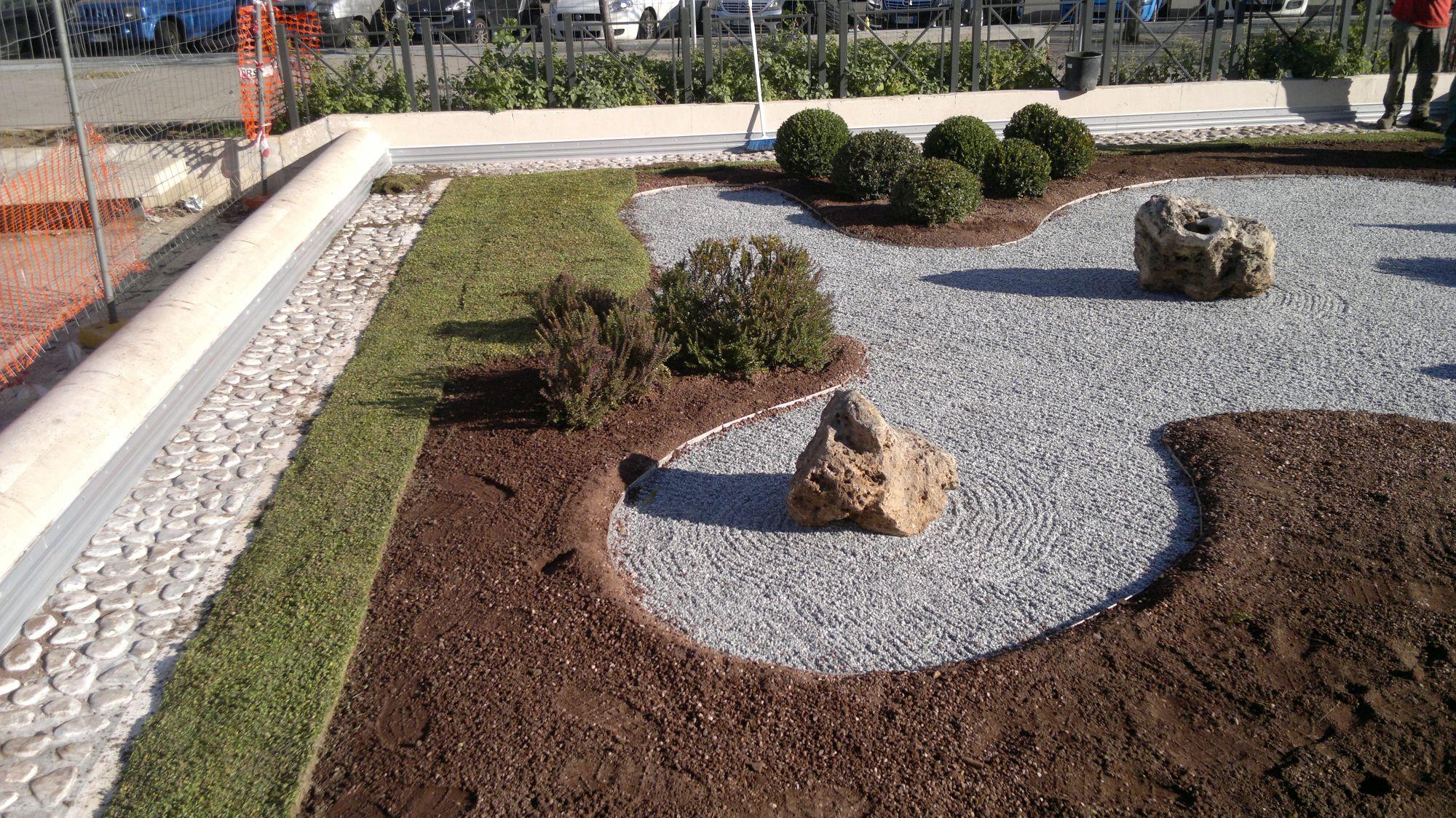 Municipio v oggi del giardino zen di viale agosta with come realizzare un giardino - Realizzare un giardino ...