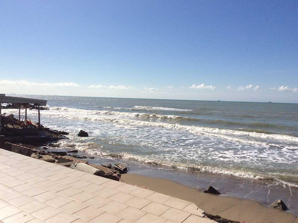 Erosione della costa Ladispoli, la Regione conferma i 6milioni di euro di finanziamento
