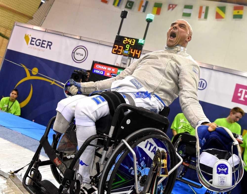 Paralimpici di scherma: Pellegrini – Giordan – Sarri sono campioni mondiali