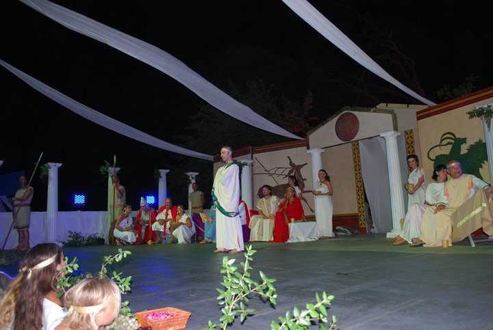Ladispoli, la notte di San Lorenzo con il Simposio etrusco