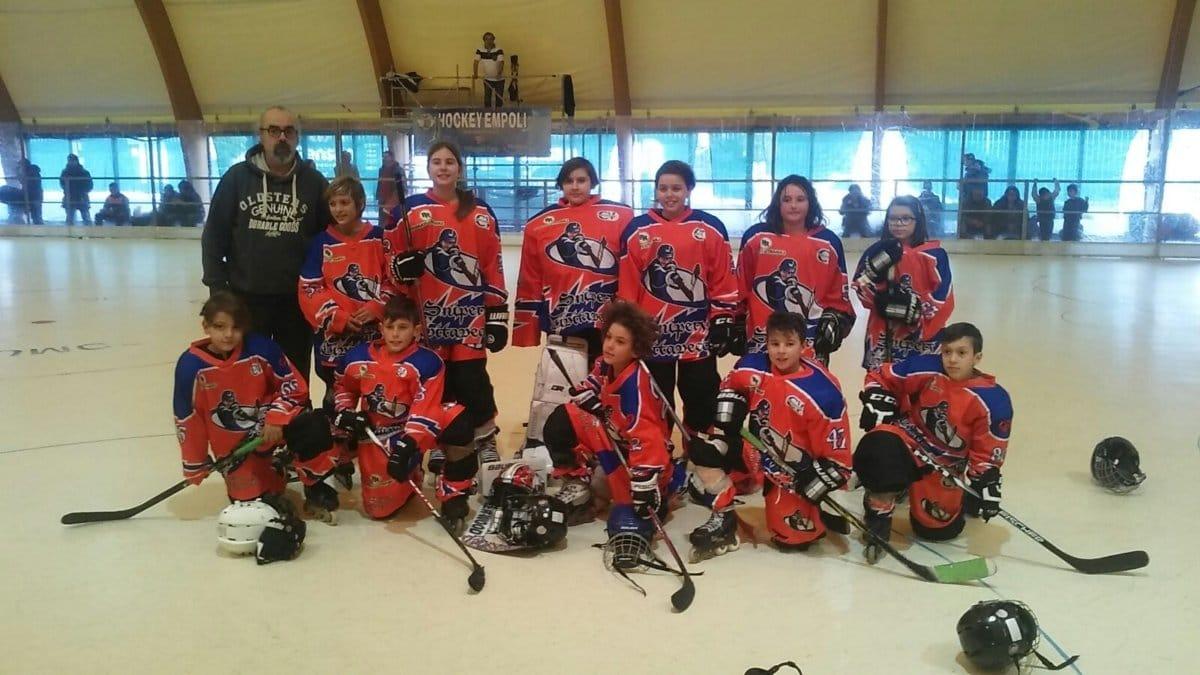 Hockey in line, ancora soddisfazioni per la giovanile della Cv Skating