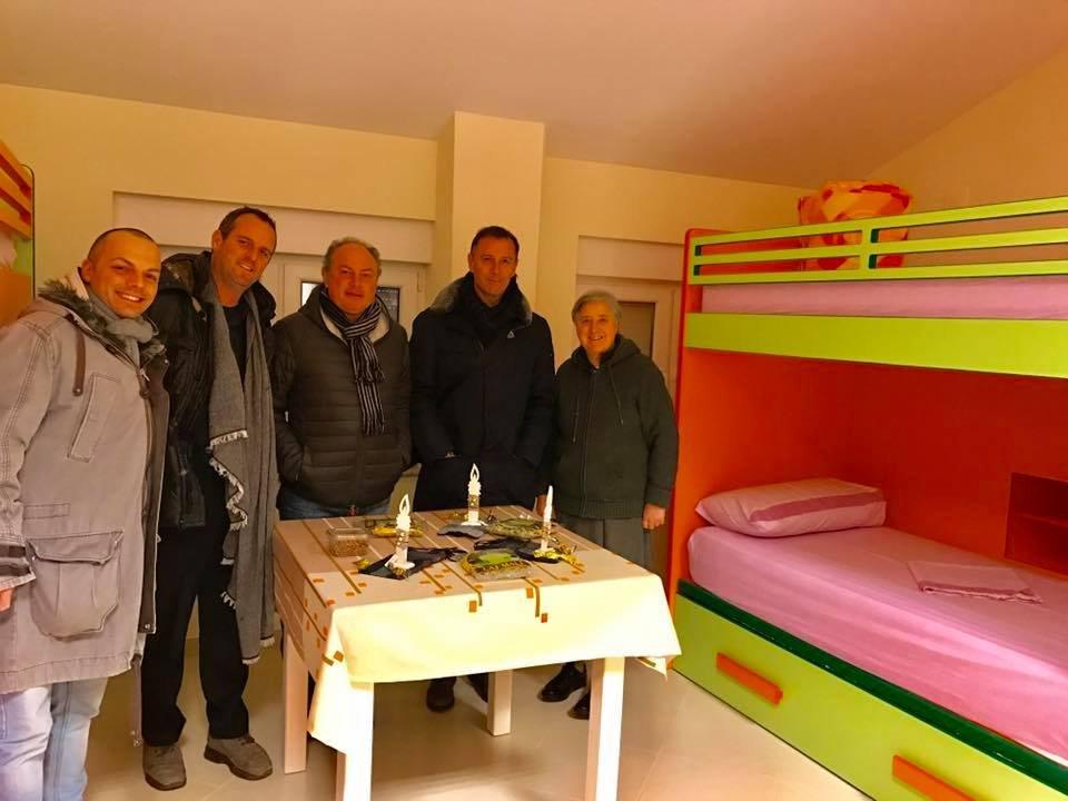 Salvatore Orsomando in missione umanitaria tra Kosovo e Albania con Alessandro Battilocchio