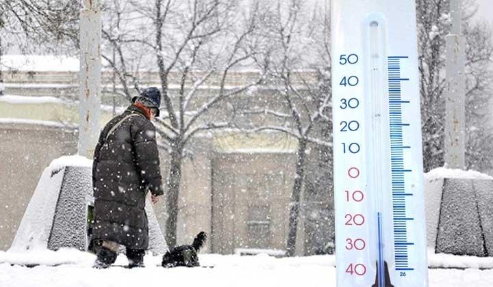 Arriva il gelo artico: sarà forse la più fredda settimana di questo inverno