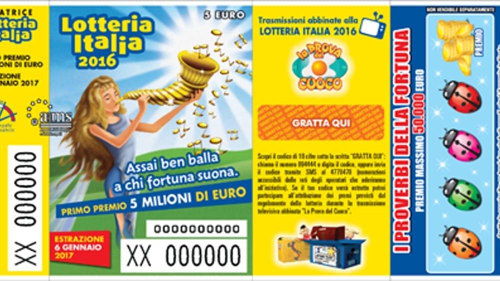 Lotteria Italia: un premio da 25.000 euro va ad un fortunato di Cerveteri