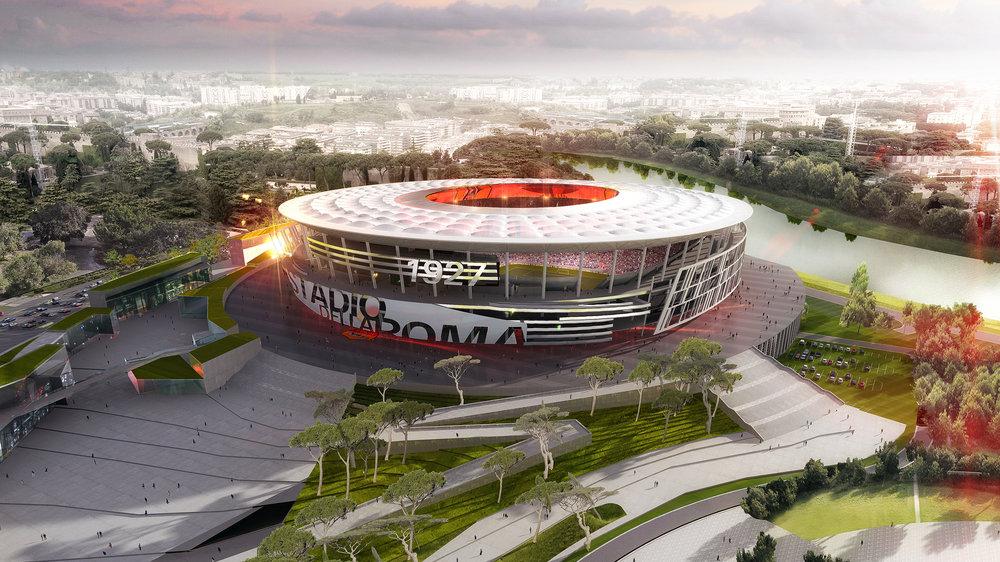 Stadio della Roma, Fiumicino rinnova la sua disponibilità