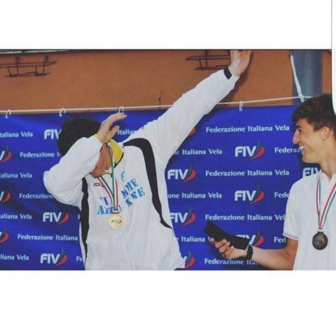 Vela, Camboni trionfa ai campionati italiani RS:X