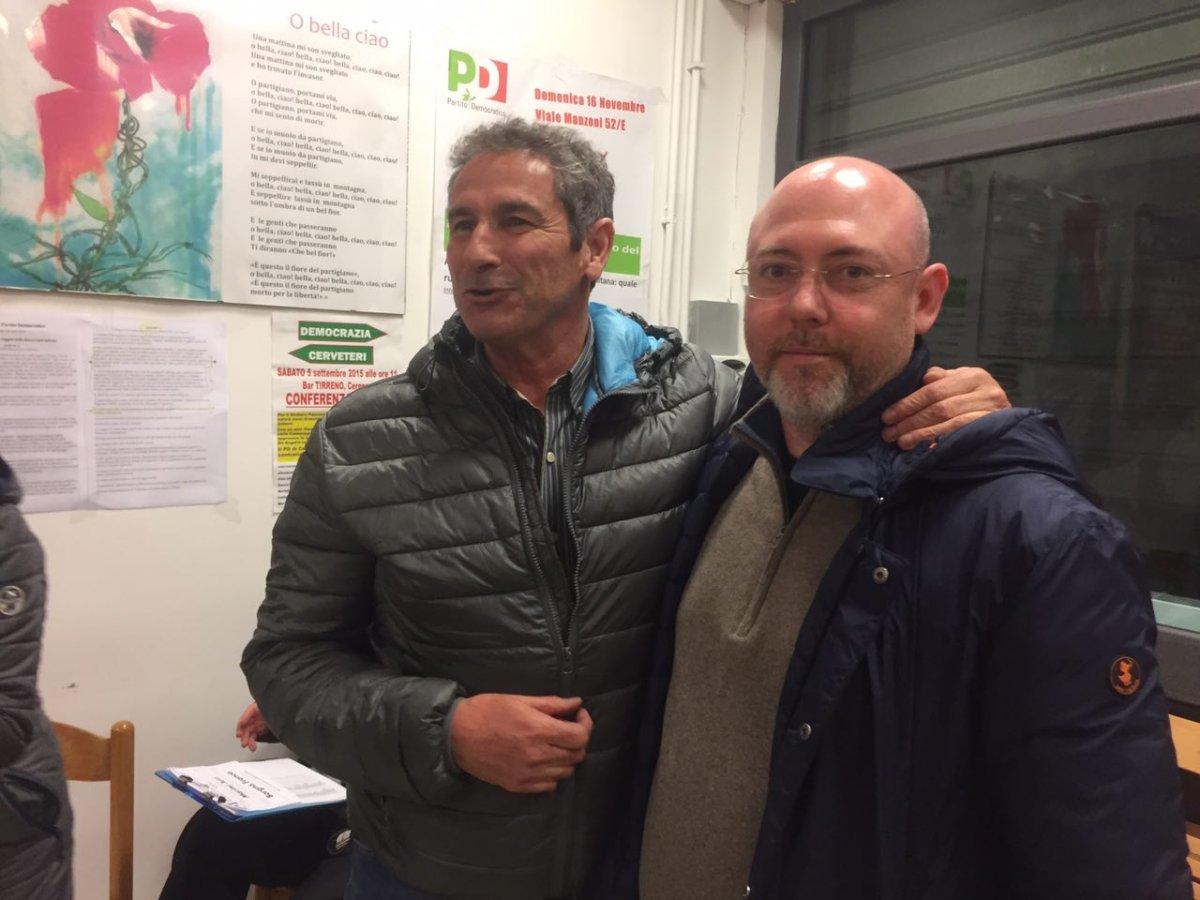 Primarie Pd Cerveteri: Juri Marini è il candidato sindaco