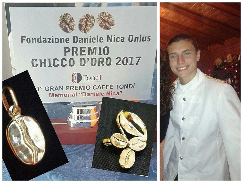 Ladispoli, la Fondazione Daniele Nica consegna il premio 'Chicco d'oro 2017'