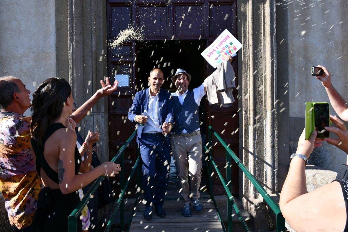 Celebrata la prima unione civile a Oriolo Romano