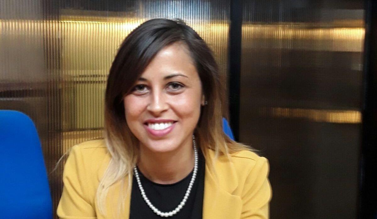 L'assessora ai lavori pubblici Veronica De Santis