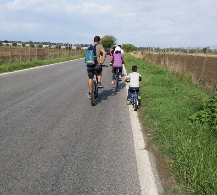 Palidoro, grande successo della Biciclettata della Torre Perla di Palidoro
