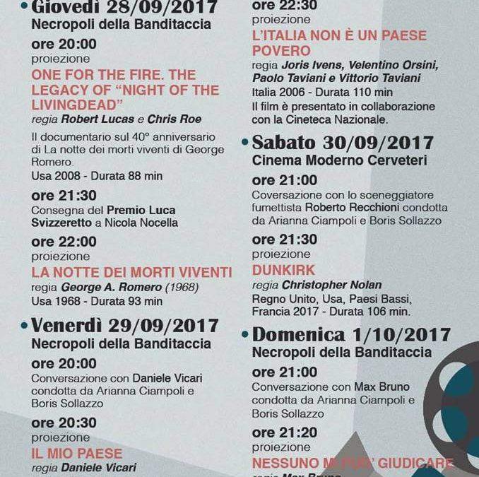 George Romero e Dunkirk battezzano il Cerveteri Film Festival