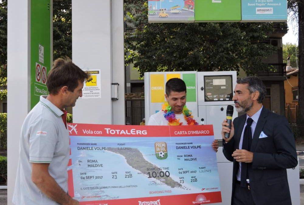 Total Erg premia a Manziana il vincitore di una vacanza alle Maldive