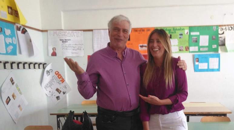 Ladispoli, la Melone incassa i complimenti per il progetto STEM con visita dell'On. Elena Boschi