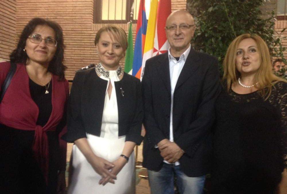 Cerveteri celebra l'indipendenza dell'Armenia