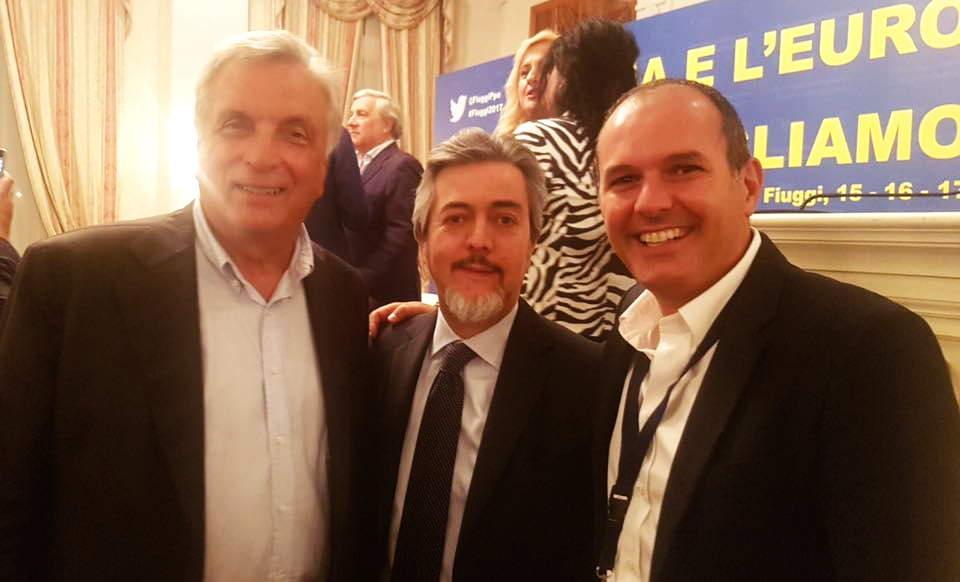 """Il sindaco di Montalto, Sergio Caci, al convegno """"L'Italia e l'Europa che vogliamo"""""""