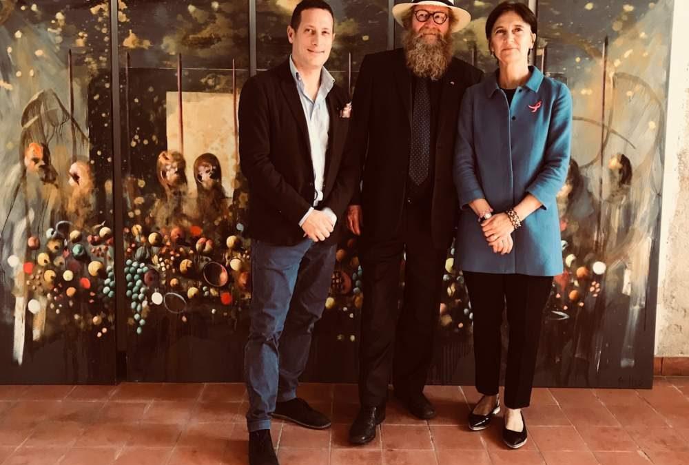 Con l'ambasciatrice si stringe il legame fra Tolfa e Norvegia
