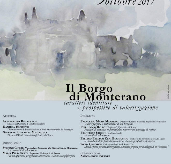 Canale Monterano: iniziativa dedicata al Borgo di Monterano