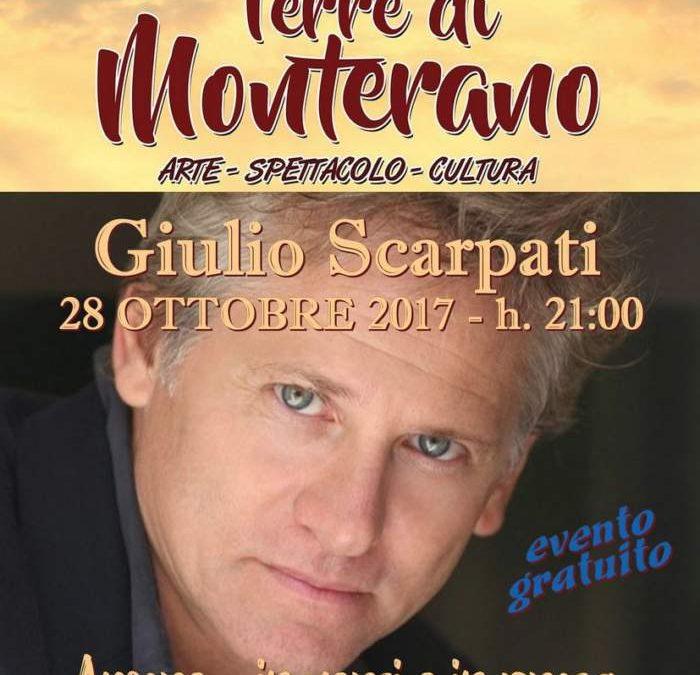 A Canale Monterano lo spettacolo teatrale con Giulio Scarpati dedicato all'amore in versi e prosa