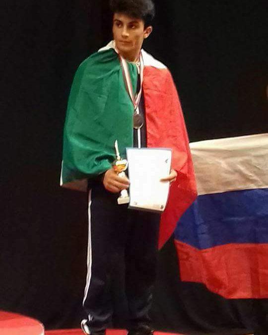 """Breakdance, Calicchio: """"Congratulazioni a Alessio Giovannozzi per i campionati under 15"""""""