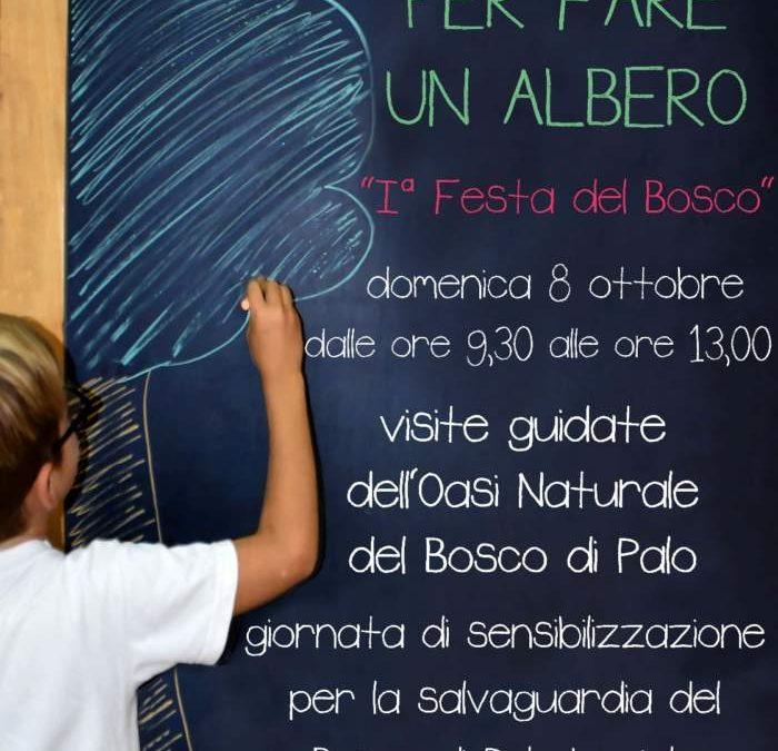 """Grande successo della manifestazione """"Per Fare un Albero – Prima Festa del Bosco"""""""