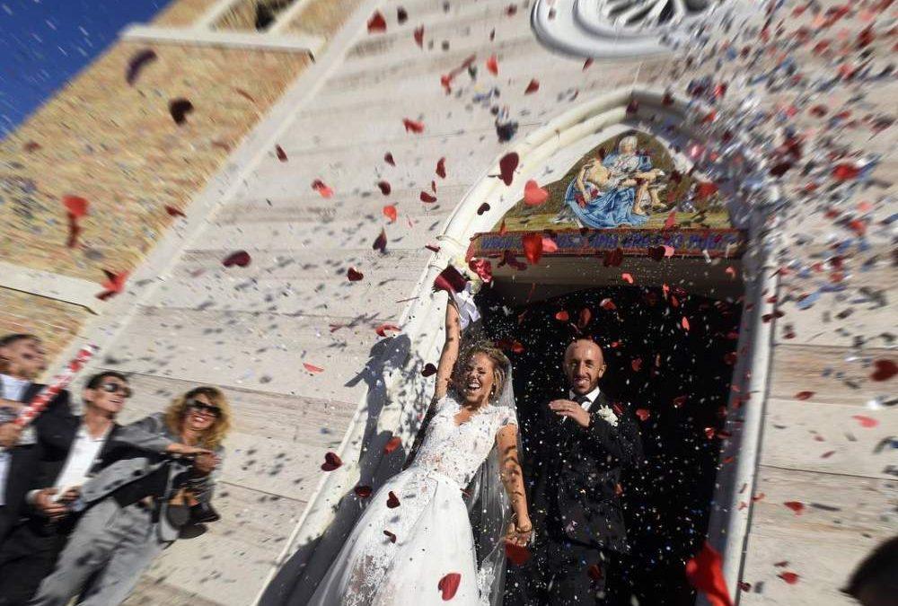 Matrimonio a Tolfa per Tony Cairoli e Jill Cox