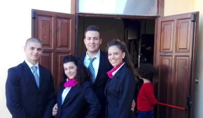 Maccarese, gli studenti dell'alberghiero di Ladispoli partecipano alla festa della biblioteca dei piccoli