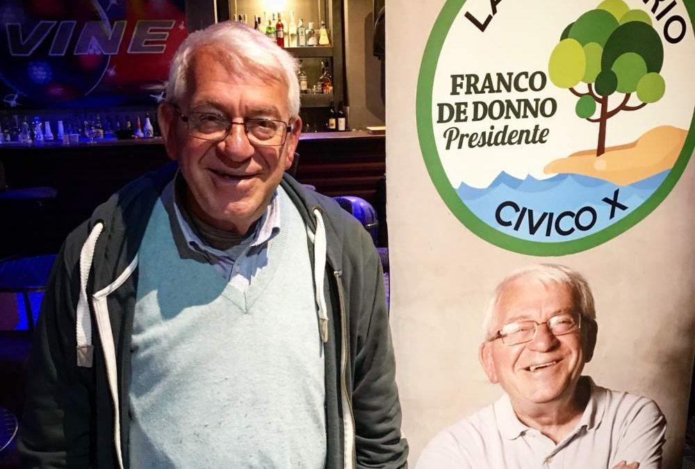"""Municipio X, De Donno: """"Ottimo risultato, ripartiamo con maggiore forza"""""""