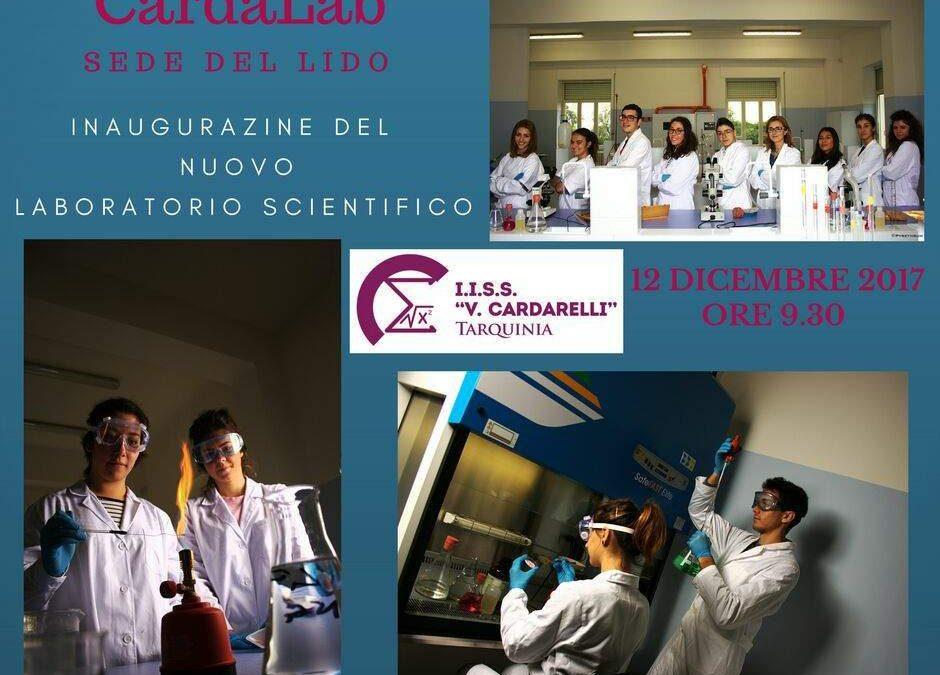 Tarquinia, nuovo laboratorio scientifico all'Iis Cardarelli