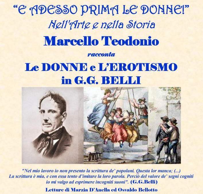 """Ladispoli in biblioteca arriva """"Le donne e l'erotismo in G.G. Belli"""""""