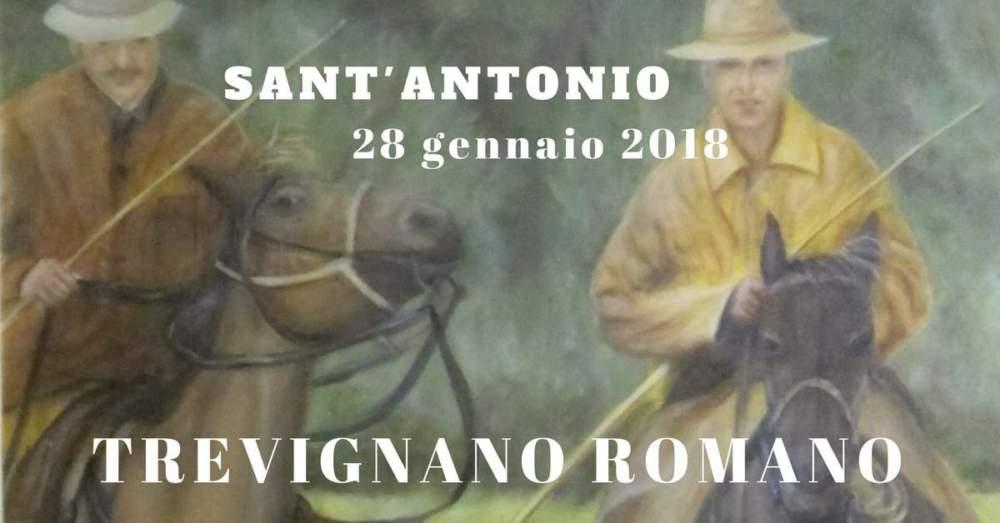 Sfilata a Cavallo per le vie di Trevignano Romano in onore di Sant'Antonio Abate