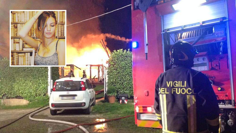 Abitazione in fiamme a Trevignano: salva la 18enne di Cerveteri Lucrezia Terenzi