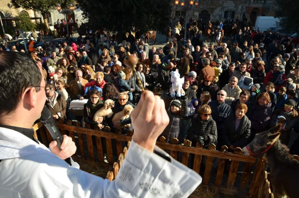 Montalto, il 21 gennaio i festeggiamenti di Sant'Antonio Abate