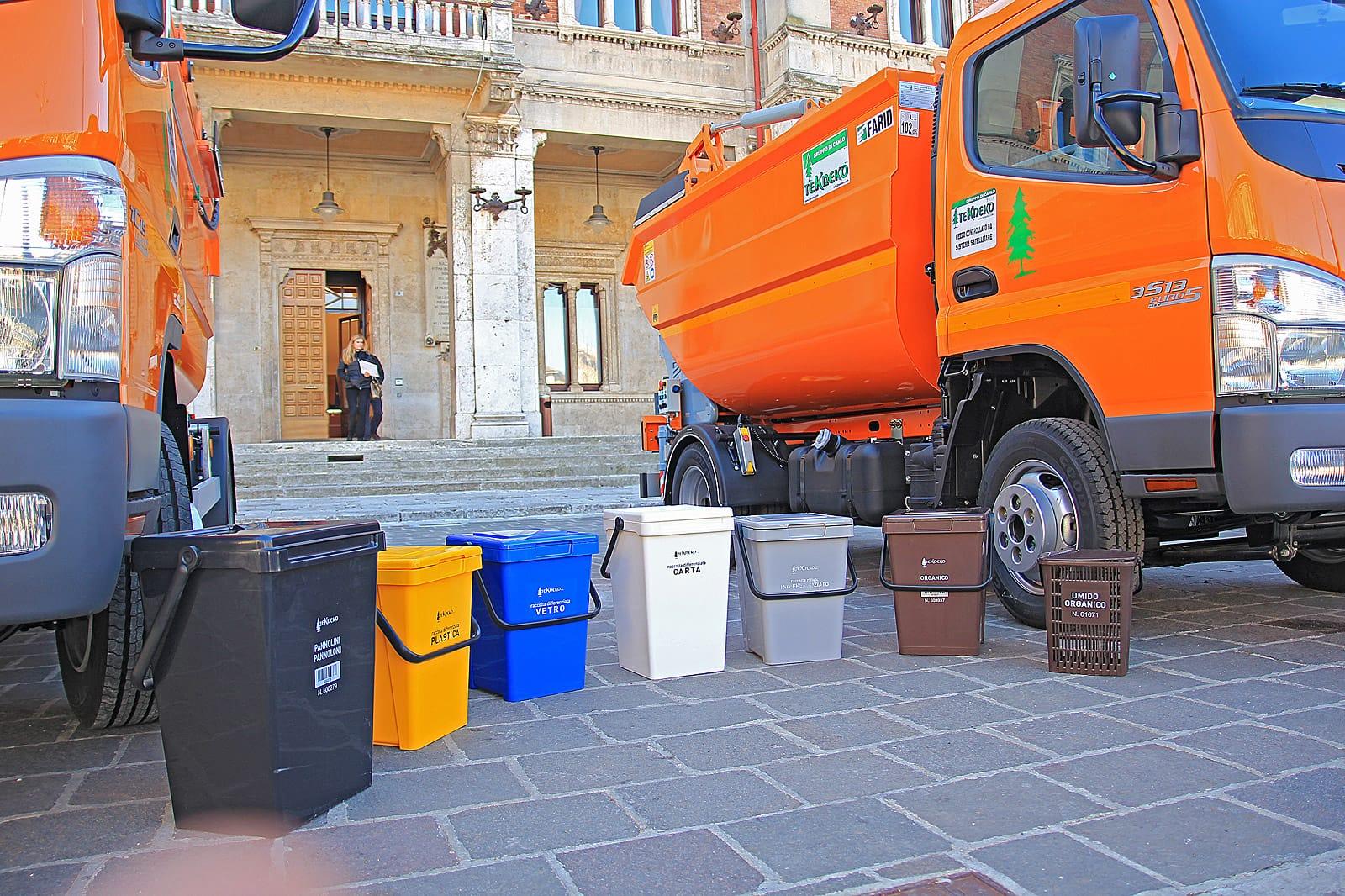 Raccolta porta a porta a Cerveteri, fino al 28 febbraio resta in vigore il calendario attuale