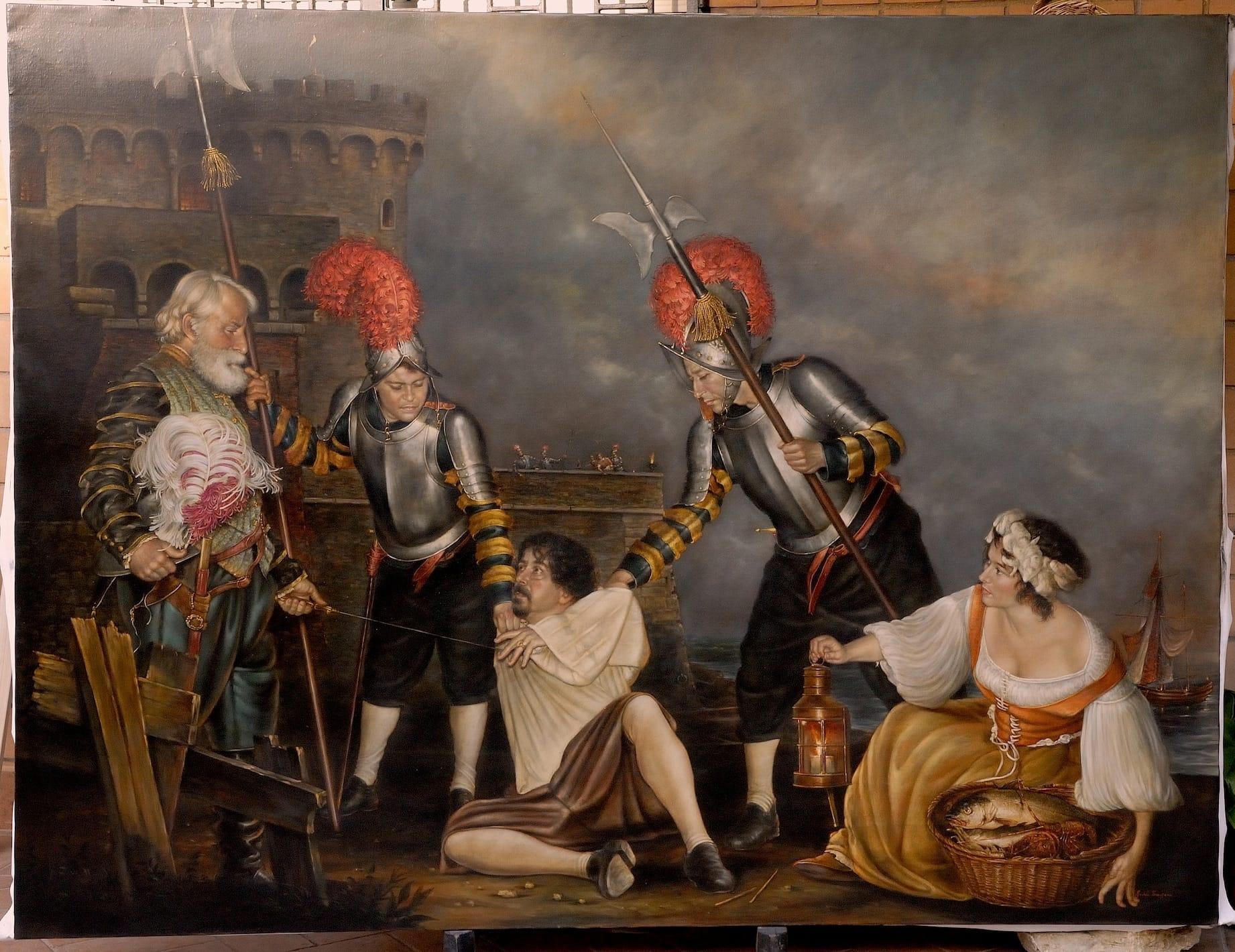 """Ladispoli, all'aula consiliare lo spettacolo """"Caravaggio, i dipinti in versi"""""""
