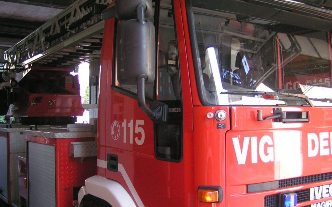 Incendio alla Serpentara: a fuoco sterpaglie
