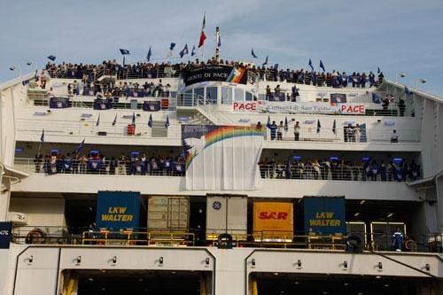 È in arrivo a Civitavecchia la Nave della Pace, Peace Boat