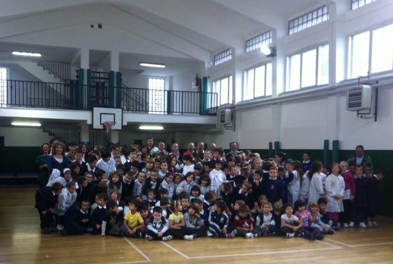 Tolfa inaugurata la palestra della scuola primaria dopo for Costo della palestra giungla