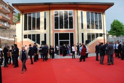 Lo spettacoloJentudella compagniaZerogrammi in scena al Teatro Claudio di Tolfa.