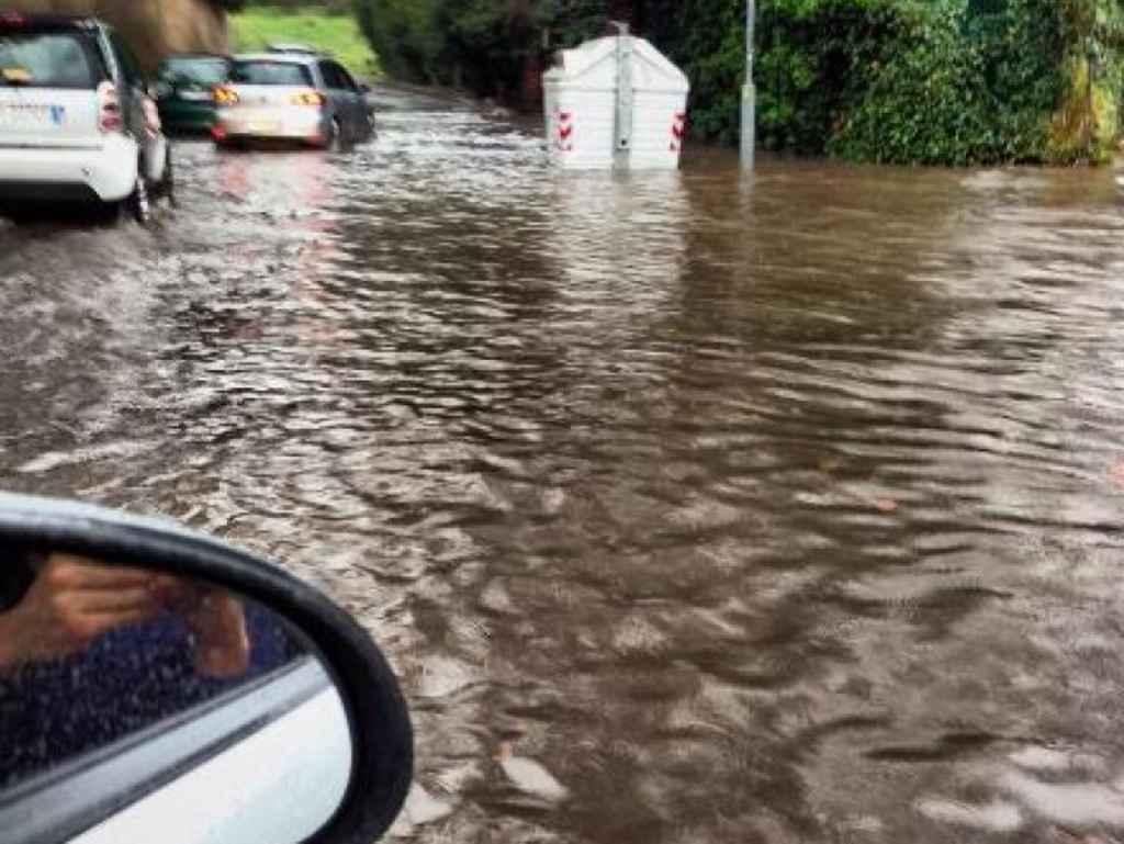Regione Lazio: nuova allerta meteo per le prossime 24 ore