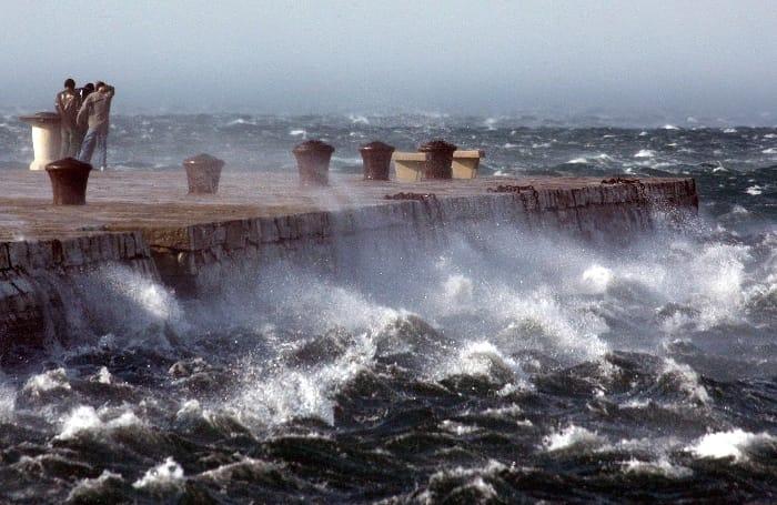 Allerta Meteo Lazio: da domani forti venti di burrasca