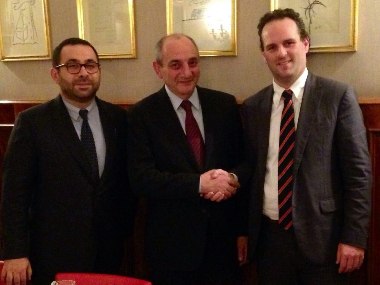 Cooperazione: Battilocchio incontra il Presidente del Nago
