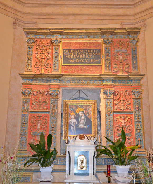 Tolfa nel weekend si festeggia la madonna della sughera for Quando si festeggia santa ilaria
