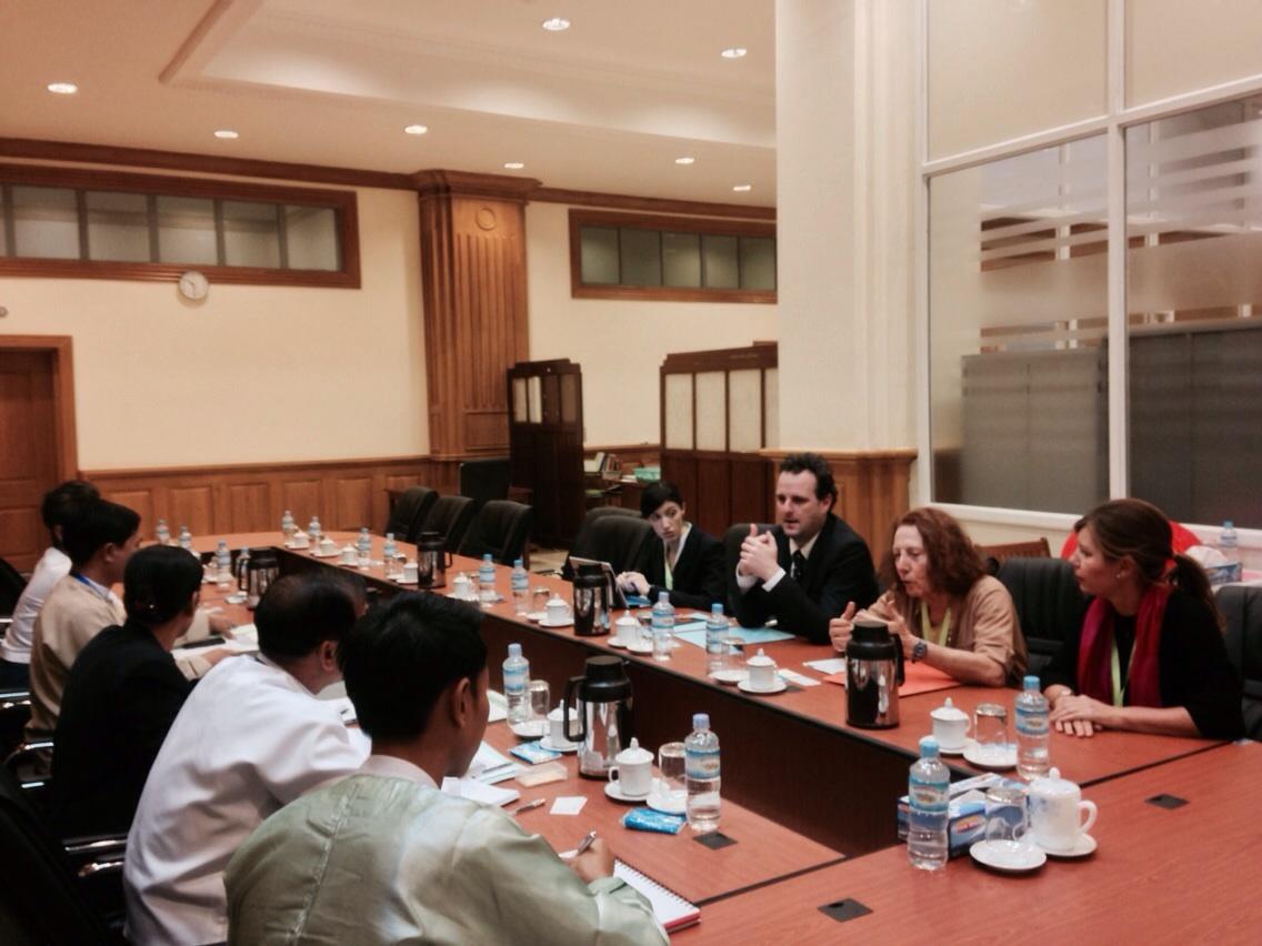 Delicato impegno in Myanmar per Battilocchio