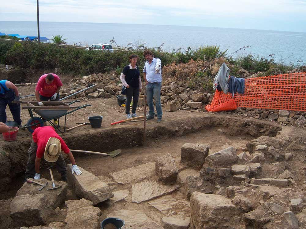 Scavi Castrum novum