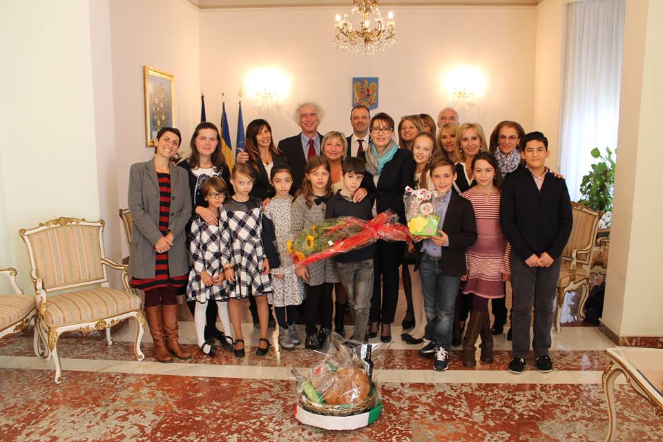 Ladispoli, l'ambasciatore di Romania Dana Manuela Constantinescu verrà in visita alla Corrado Melone